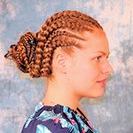 Alternating Cornrows