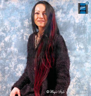 Haaverlangerung Und Haarverdichtung Weaving Tressen Teilweaving