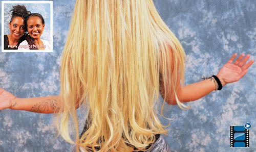 weiss mit braids
