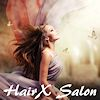 Logo HairX Salon Wiesbaden